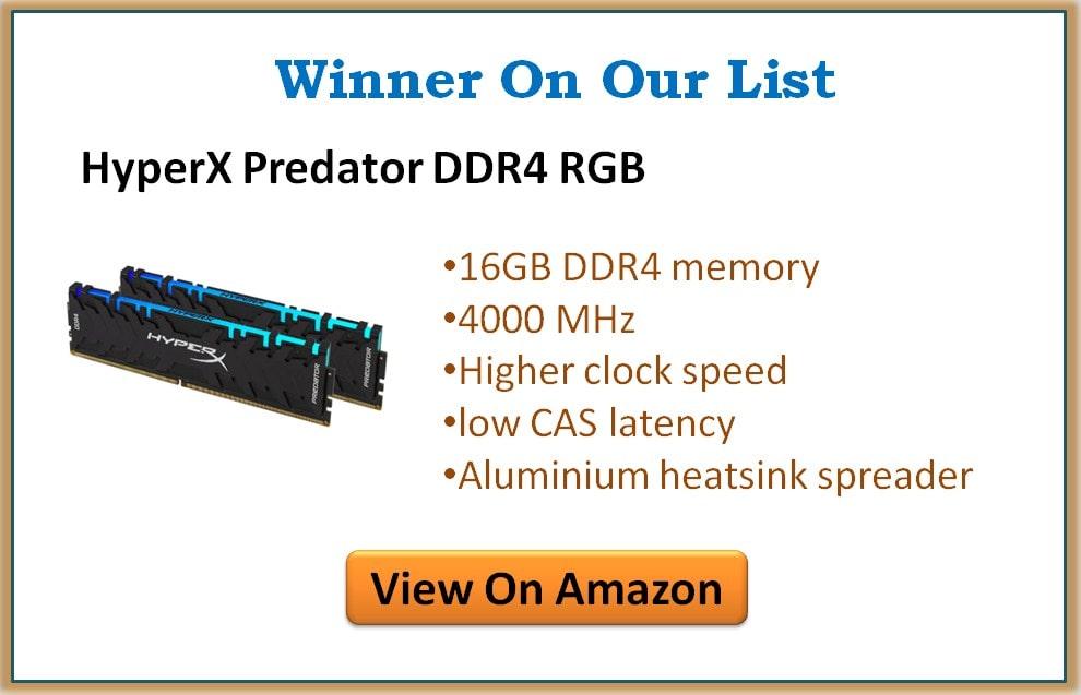 Best Ram for i9 9900K 2020