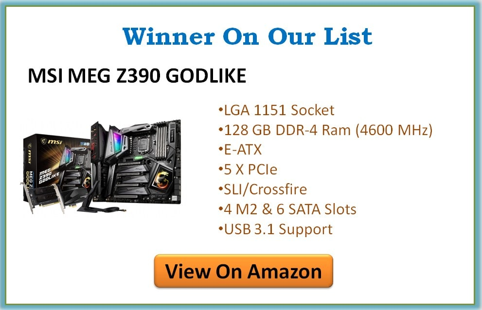 The 4 Best Z390 Motherboards for Gaming