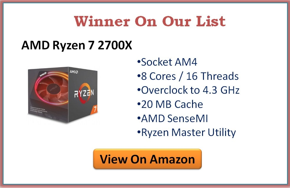 Best CPU for RX 580 Graphics Card
