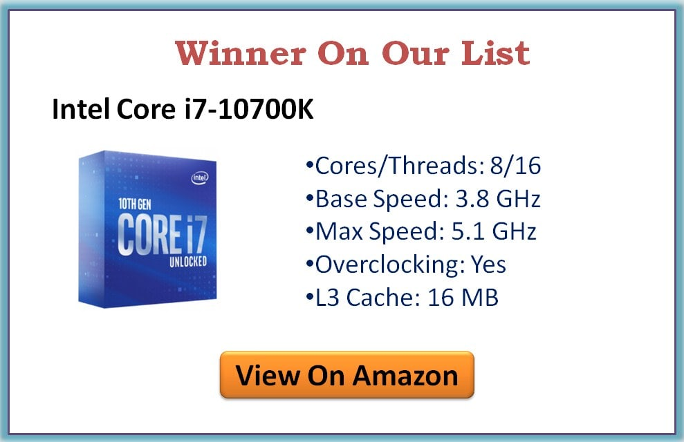 Best i7 Processors for Gaming at Higher Resolution