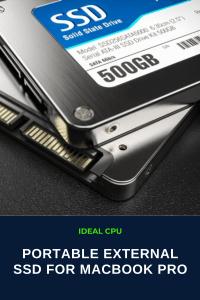 Best Portable External SSD for MacBook Pro on market
