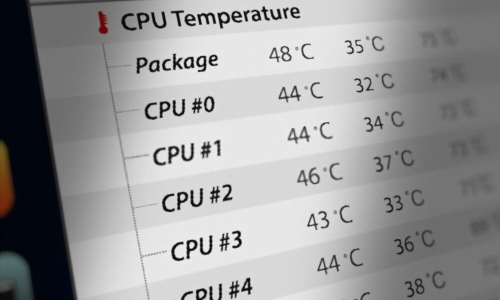 CPu and GPU temp monitor