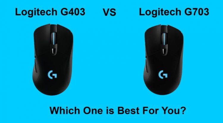 which is best Logitech G403 vs Logitech G703 an In-Depth Comparison