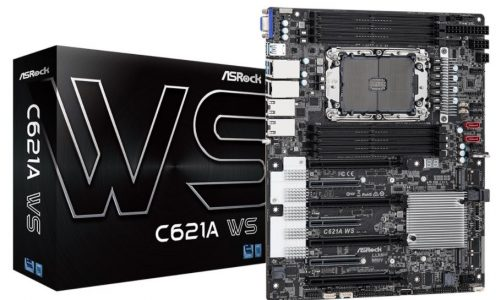 ASRock's C621A WS, A Powerful Motherboard for Xeon W-3300 Workstations