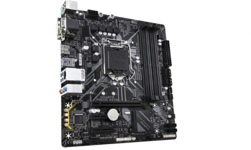 motherboard flashes orange light